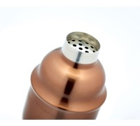 Bar Craft Copper Finish 500ml Cocktail Shaker