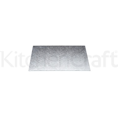 Sweetly Does It Silver 20cm Square Cake Board
