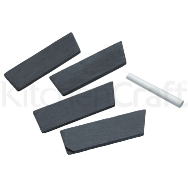 Master Class Appetiser Set of 4 Slate Cheese Markers