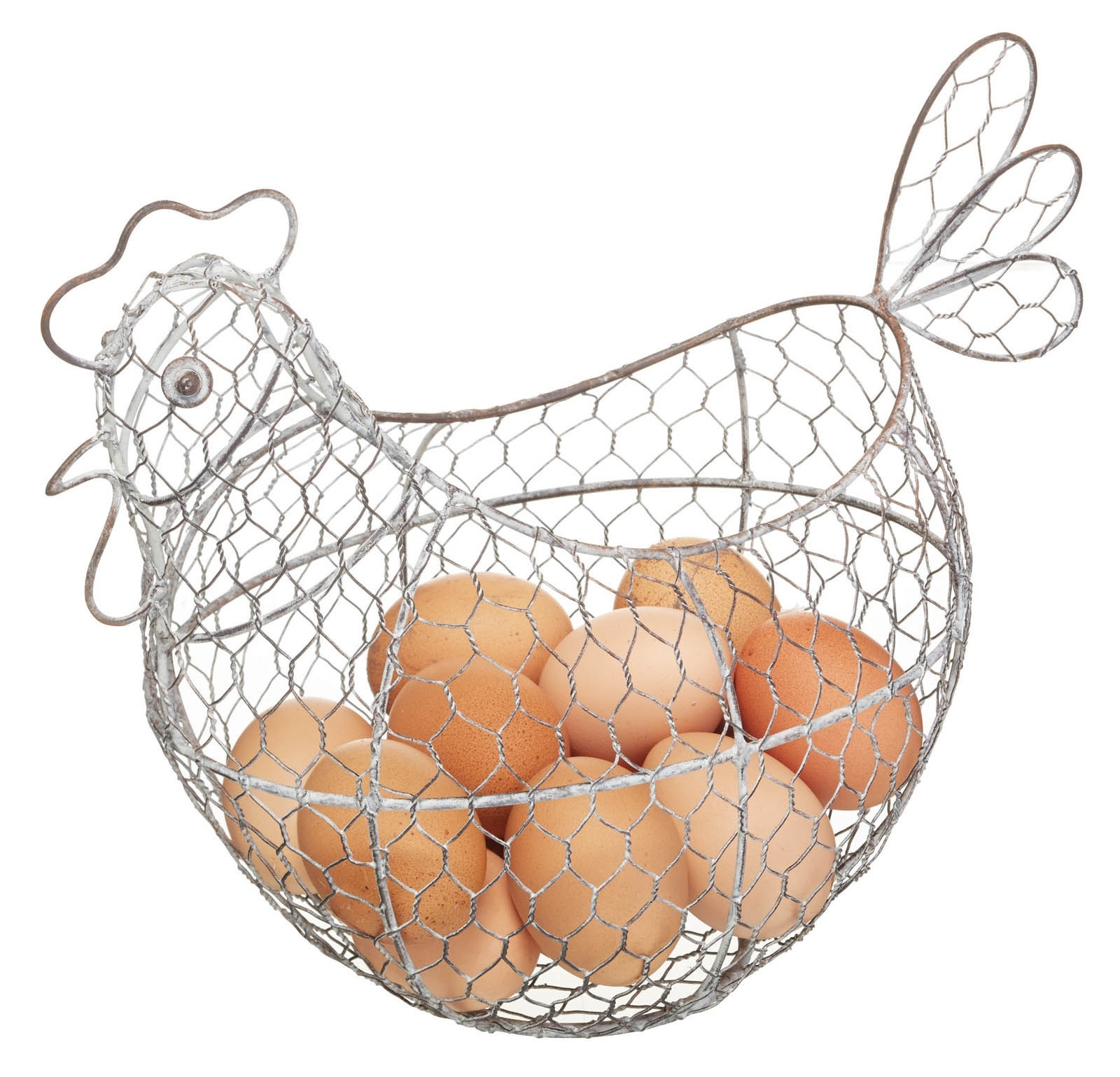 Classic Collection Wire Egg Basket Wireware