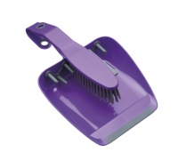 Colourworks Purple Dustpan and Brush Set