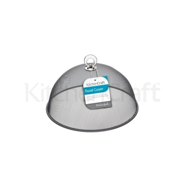 KitchenCraft Round 25cm Metal Mesh Food Cover