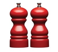 Master Class 14cm Red Capstan Salt and Pepper Mill Set