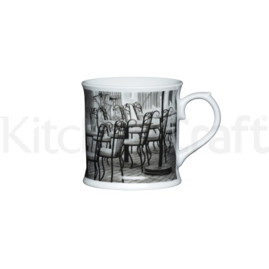 Kitchen Craft Fine Porcelain Café Chair Mug