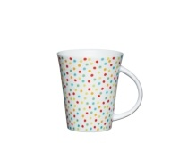 Kitchen Craft Fine Porcelain Spot Mug