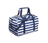 KitchenCraft Lulworth Extra-Large Nautical-Striped Family Cool Bag
