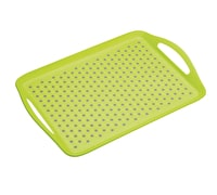 Colourworks Green Anti-Slip Serving Tray
