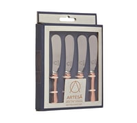 Artesà Stainless Steel Butter Knife Set