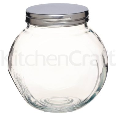 Home Made Tilt or Tall Large Glass Storage Jar