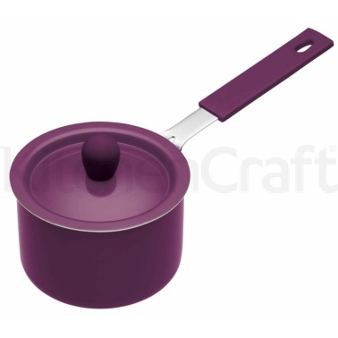 Colourworks Purple Mini Saucepan with Soft Grip Handle