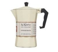 Le'Xpress Italian Style 290ml Cream Coloured Espresso Coffee Maker