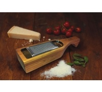 KitchenCraft Italian Bamboo Grater with Holder