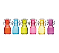 Colourworks 65ml Miniature Coloured Glass Bottle