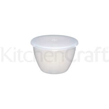 Kitchen Craft Plastic 570ml Pudding Basin and Lid