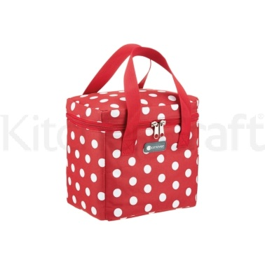Coolmovers Tall Red Polka Lunch / Snack Cool Bag