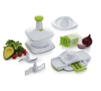 KitchenCraft 5 in 1 Manual Food Processor