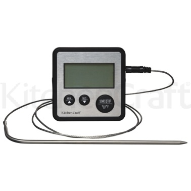 Kitchen Craft Digital Cooking Thermometer and Timer