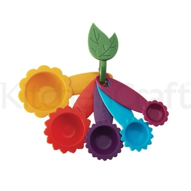 Kizmos Flora Set of 5 Measuring Spoons