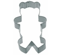Kitchen Craft 7.5cm Teddy Bear Shaped Cookie Cutter