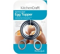 Kitchen Craft Stainless Steel Egg Topper