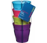 Set di 4 tumbler in melammina