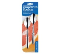 KitchenCraft Set of 2 Stainless Steel Grapefruit Spoons