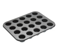MasterClass Non-Stick Twenty Hole Mini Bites Tin