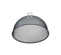 KitchenCraft Round 30cm Metal Mesh Food Cover