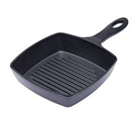 KitchenCraft Square 'Cast Iron' Melamine Griddle Serving Pan