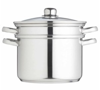 KitchenCraft Italian Pasta Pot with Steamer Insert