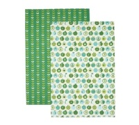 Kitchen Craft Set of 2 An Apple A Day Tea Towels