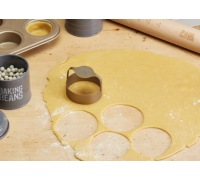 Paul Hollywood Stainless Steel Pastry Cutters