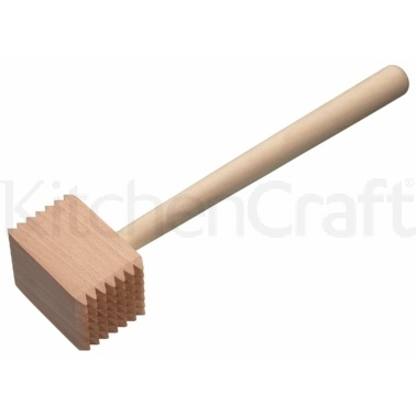 Kitchen Craft Beech Wood Meat Hammer