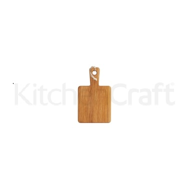 MasterClass Gourmet Prep & Serve Square Oak Paddle Board