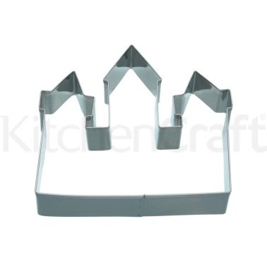 Kitchen Craft 12cm Castle Shaped Cookie Cutter
