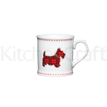 KitchenCraft Scottie Dog Fine Porcelain Scottie Mug