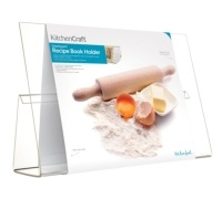 KitchenCraft Acrylic Recipe Book Holder