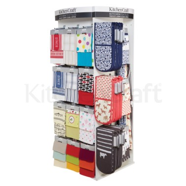 Kitchen Craft Textiles Display Stand
