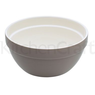 Natural Elements Large Stoneware Serving Bowl