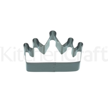 KitchenCraft 9cm Crown Shaped Cookie Cutter