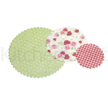 Sweetly Does It Pack of 30 Floral Patterned Paper Doilies