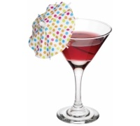 Paquet de 12 parapluies cocktail Mix It