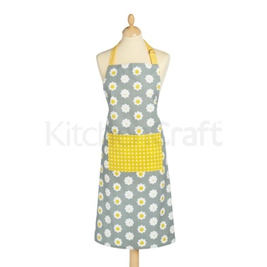 KitchenCraft Retro Flower Apron