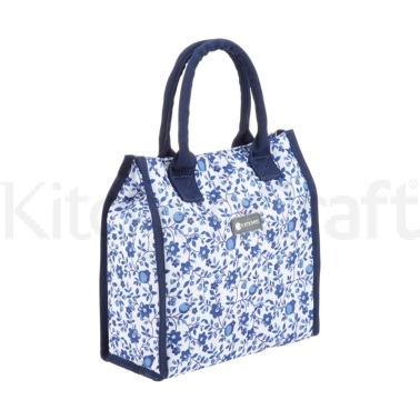 Coolmovers 4 Litre Blue Flower Dot  Lunch / Snack Cool Bag