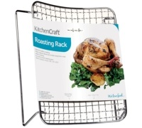 Kitchen Craft Chrome Plated 20cm x 25cm Roasting Rack