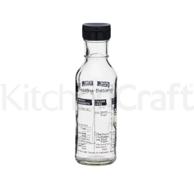 KitchenCraft Glass Salad Dressing Maker