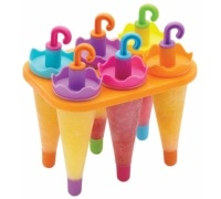 Kitchen Craft Set of 6 Umbrella Lolly Makers With Stand