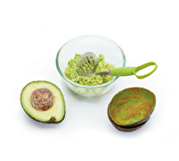 KitchenCraft 2 in 1 Avocado Scoop & Masher