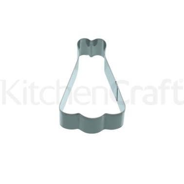 KitchenCraft 9cm Dress Shaped Cookie Cutter
