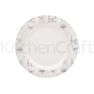 Coolmovers Butterfly Lane Pack of 4 Melamine 20cm Side Plates